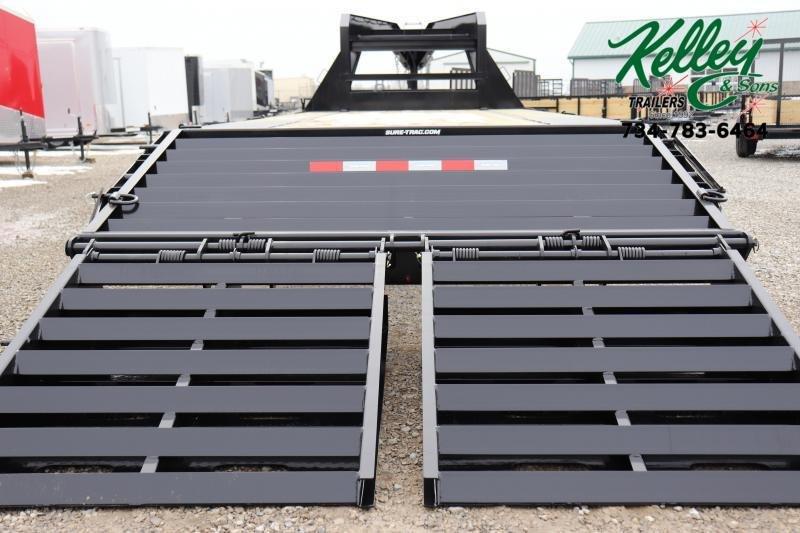 2020 Sure-Trac 8.5x20+5 15K Deckover Gooseneck Flat Bed Trailer