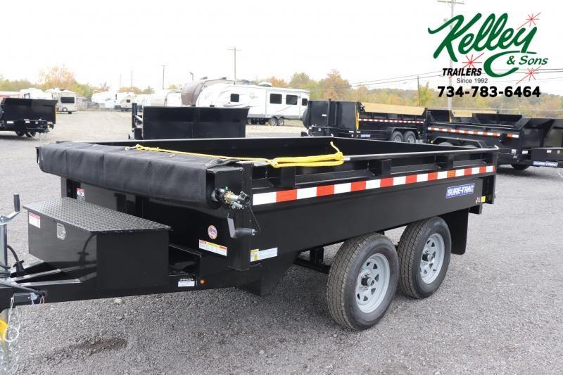 "2021 Sure-Trac 72""x10 7K Deckover Single Ram Dump Trailer"