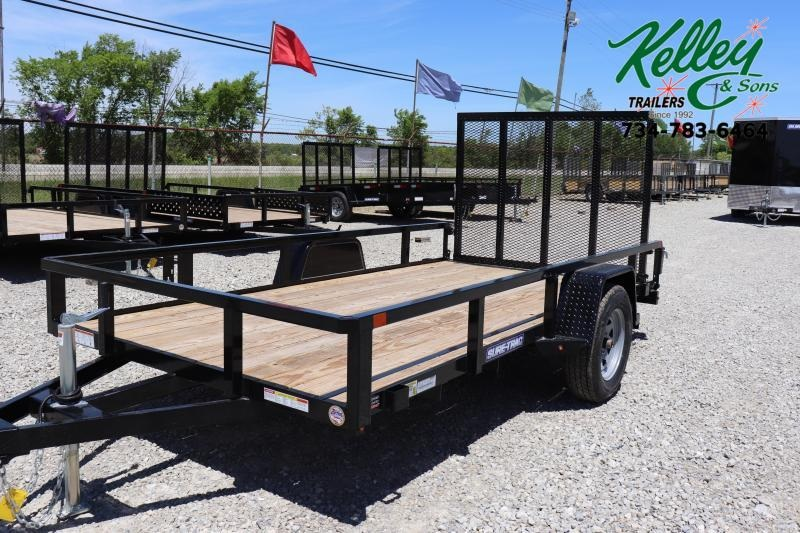 2021 Sure-Trac 6x12 Tube Top Utility Trailer