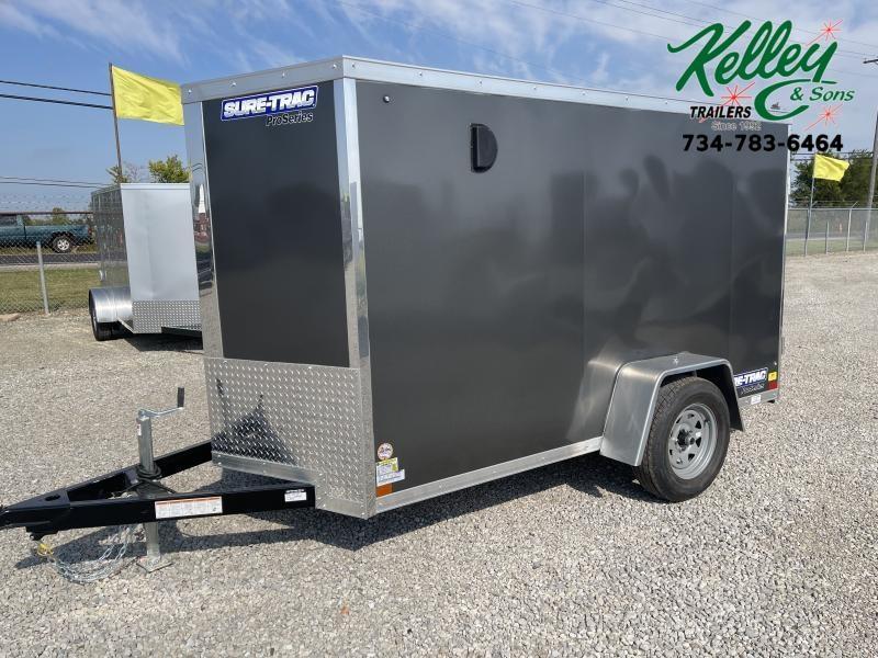 2022 Sure-Trac 5x10 Pro Series Wedge Cargo Trailer