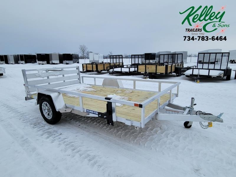 2021 Sure-Trac 7x12 3K Aluminum Tube Top Utility Trailer