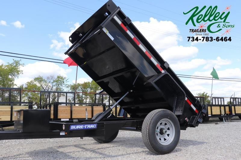 "2021 Sure-Trac 62""x8 5K Single Ram Dump"