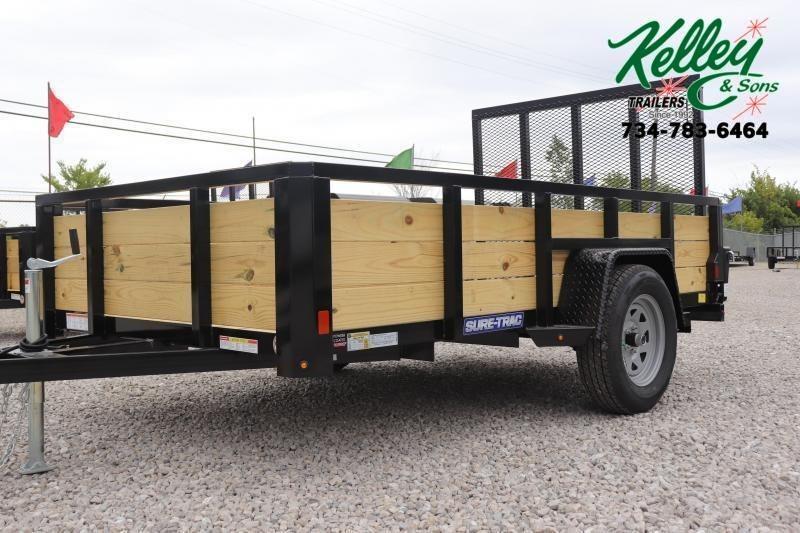 2021 Sure-Trac 6x10 3-Board Utility Trailer