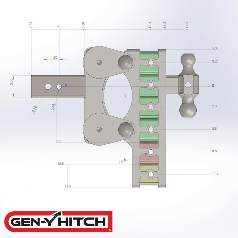 2020 Gen-Y Hitch GH-1525