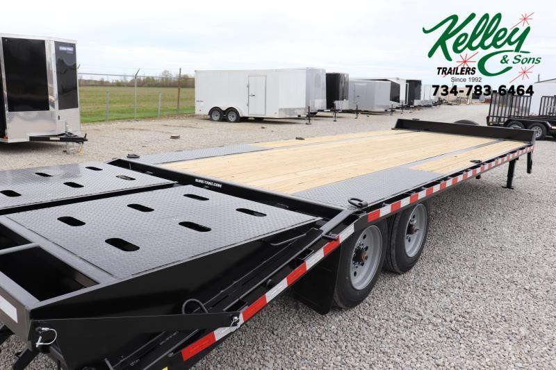 2021 Sure-Trac 8.5x20+5 17.6K Low Pro Beavertail Deckover