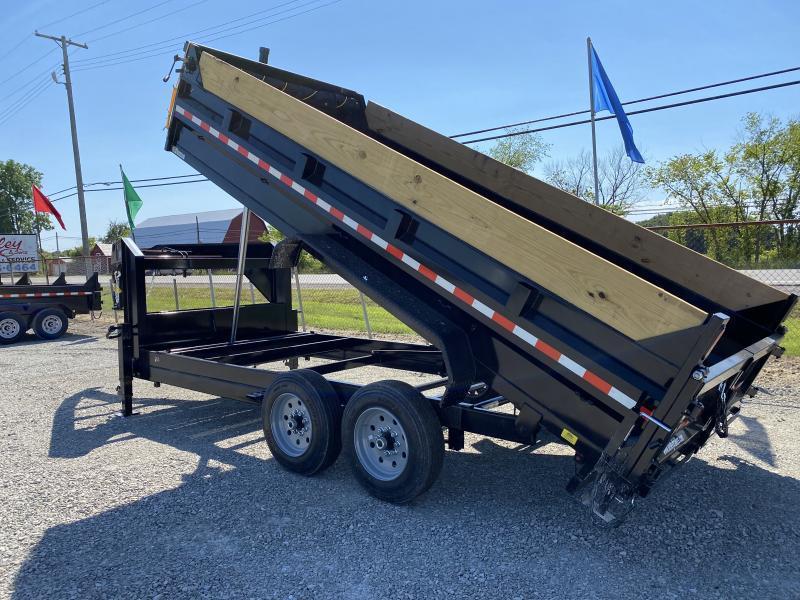 2021 Sure-Trac 82x16 16K Gooseneck Telescopic Dump