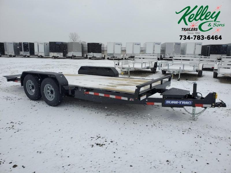 2021 Sure-Trac 7x18 14K Tilt Bed Equipment Trailer