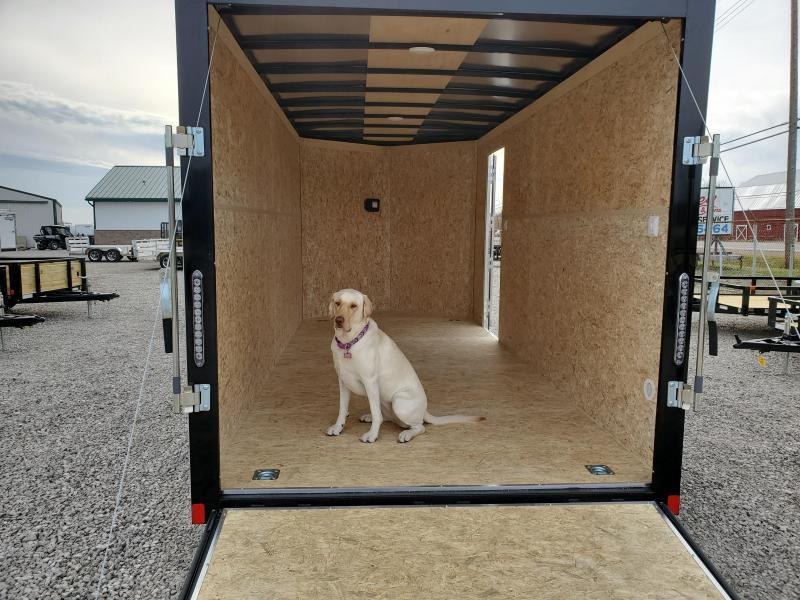 2021 7x16 7K Bravo Scout w/ Ramp Door Enclosed Cargo Trailer