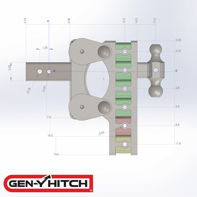 2020 Gen-Y Hitch GH-1524