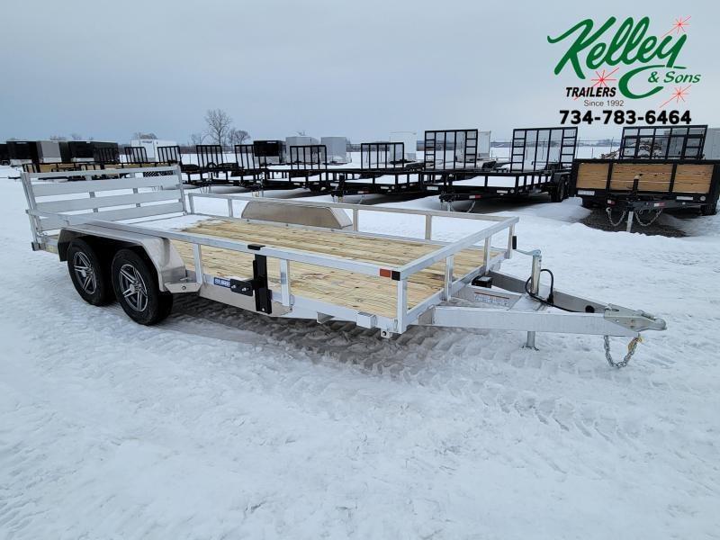 2021 Sure-Trac 7x16 7K Aluminum Utility Trailer