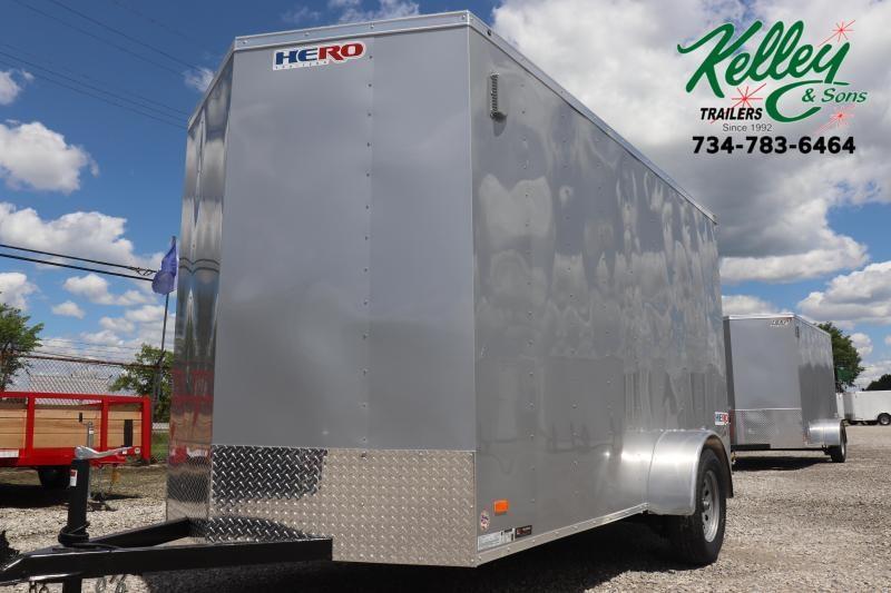 2021 Bravo Trailers 6x12 Hero Enclosed Cargo Trailer w/Ramp Door