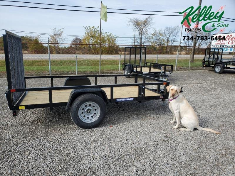 2021 Sure-Trac 5x10 Tube Top Utility Trailer