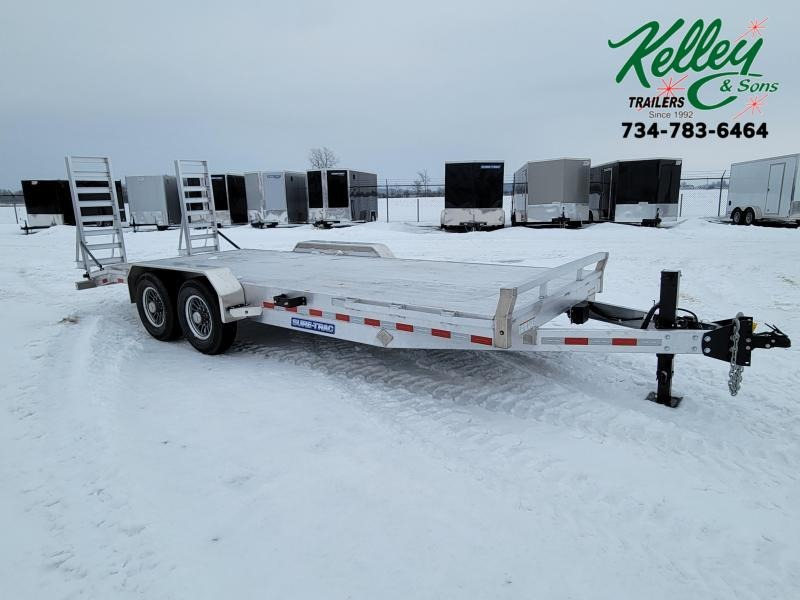 2021 Sure-Trac 7x20 (18+2) 14K Aluminum Equipment Trailer