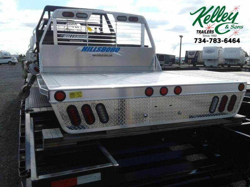 2019 Hillsboro Industries 2000 Series Aluminum Single Wheel Short Bed
