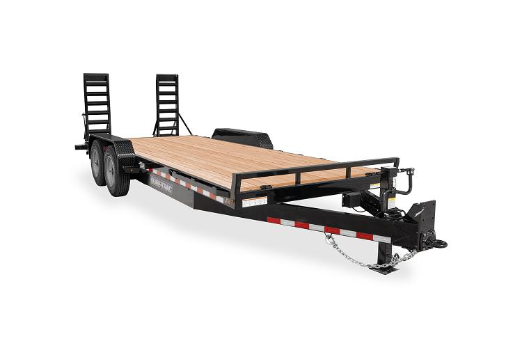 2021 Sure-Trac 7 x 20 (18+2) Equipment Trailer  16K