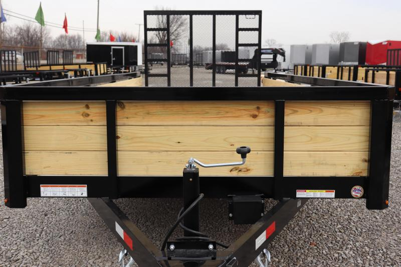 2020 Sure-Trac 7x18 10K 3-Board Utility Trailer