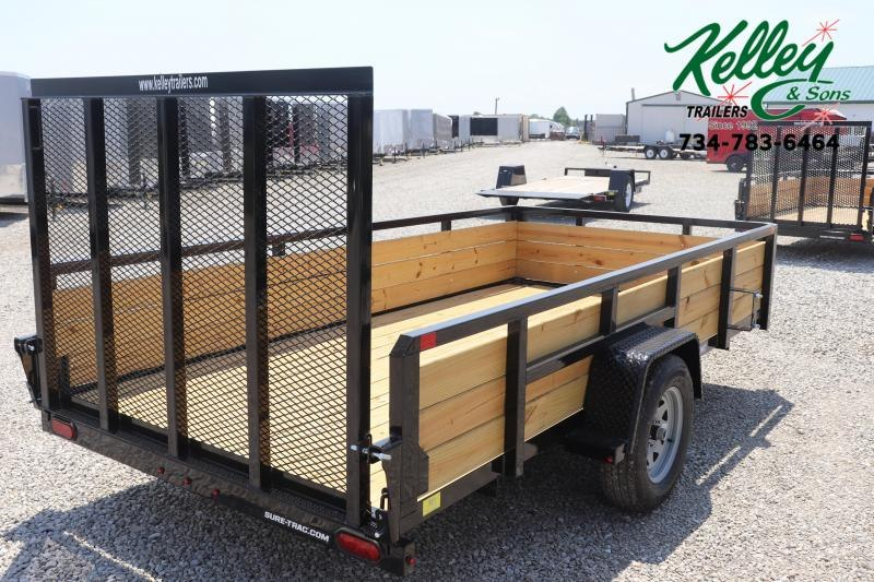 2021 Sure-Trac 6x12 Tube Top 3-Board Utility Trailer