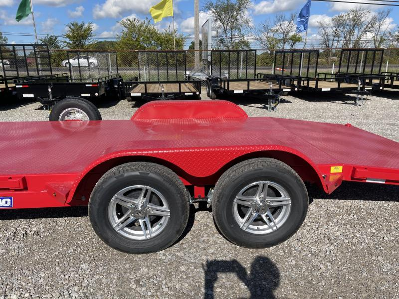 2021 Sure-Trac 7x18 Steel Deck Car Hauler 7K