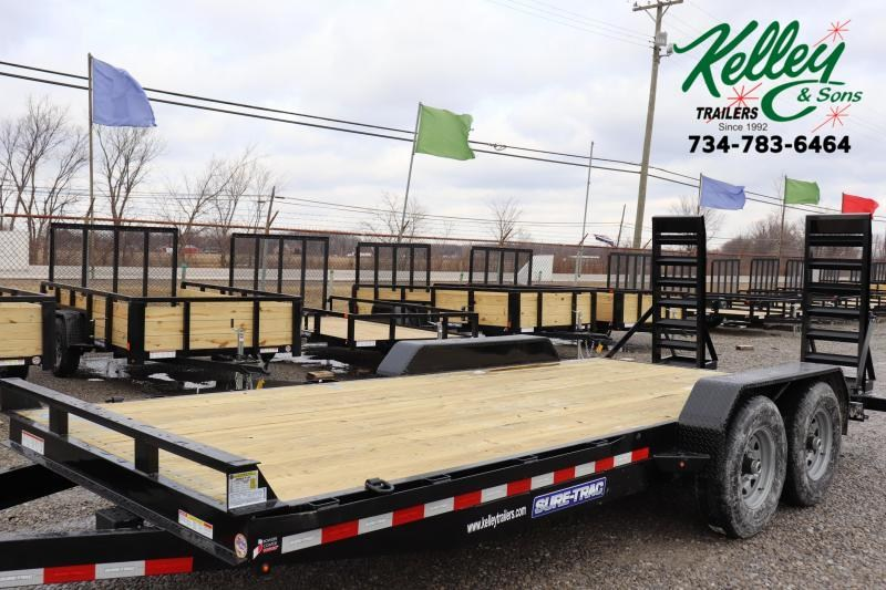 2021 Sure-Trac 7x18 14K Equipment Trailer