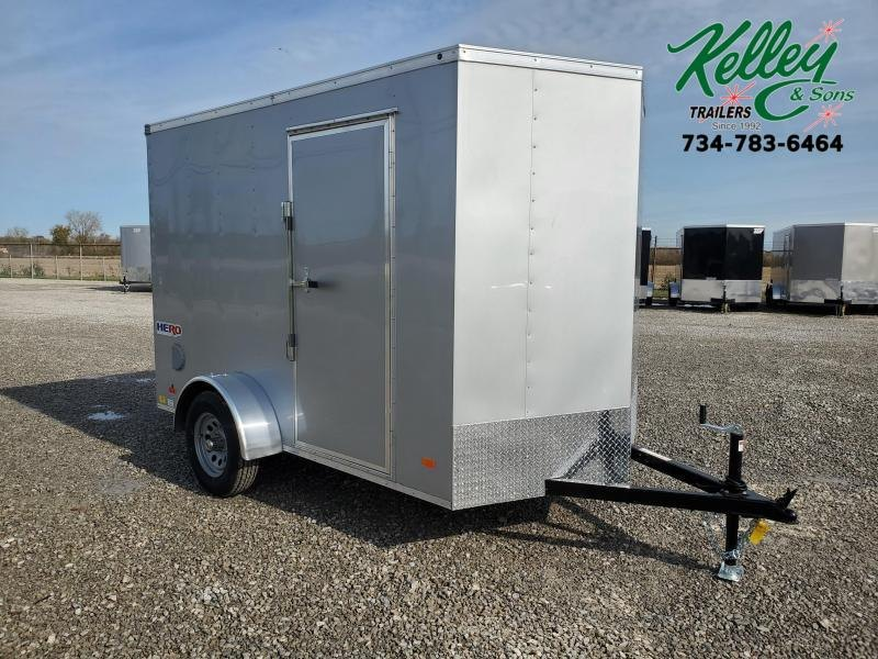 2021 Bravo Trailers 6x10 Hero w/ Ramp Enclosed Trailer