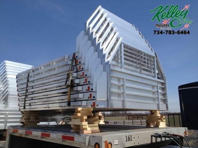 2021 Aluma 81106 Single Wheel Long Bed Aluminum Truck Bed