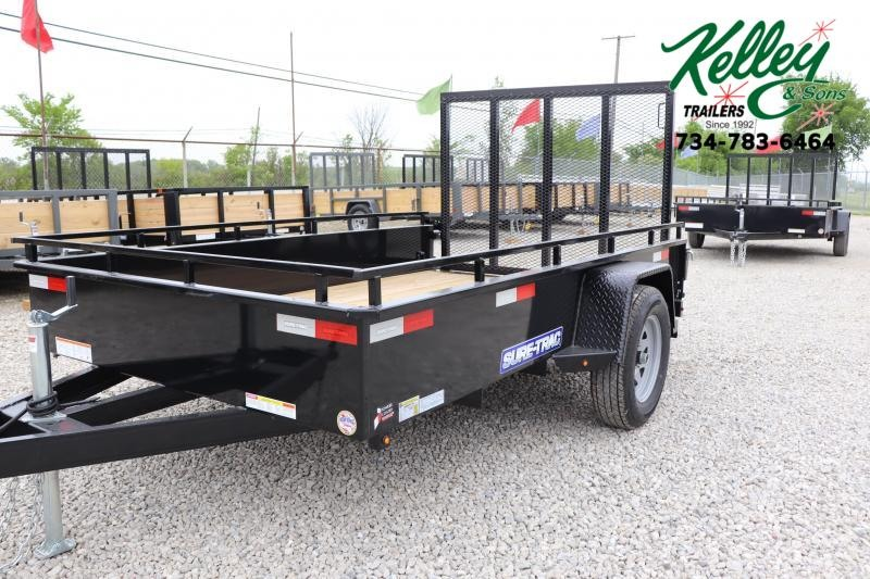 2020 Sure-Trac 6X10 Steel High Side Utility Trailer