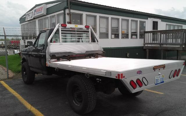 2021 Aluma 81087 Single Wheel Short Bed Aluminum Truck Bed