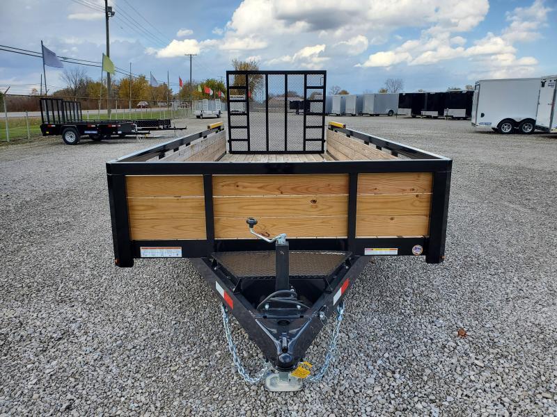 2020 Sure-Trac 7x20 10K Tube Top 3-Board Utility Trailer