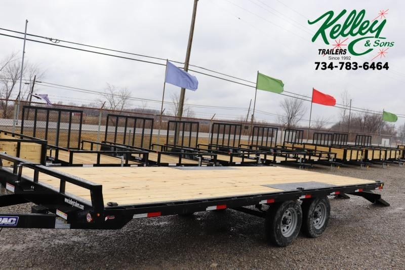 2021 Sure-Trac 8.5x20 10K Flat Deck Deckover Equipment Trailer