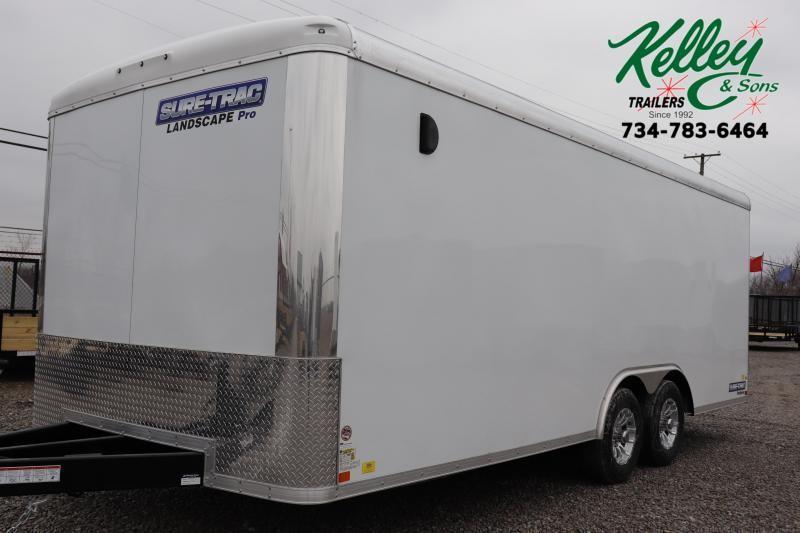 2021 Sure-Trac 8.5x18 10K Landscape Pro RT Enclosed Cargo Trailer