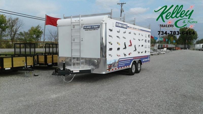 2021 Sure-Trac 8.5x20 14K Contractor Pro Enclosed Cargo Trailer