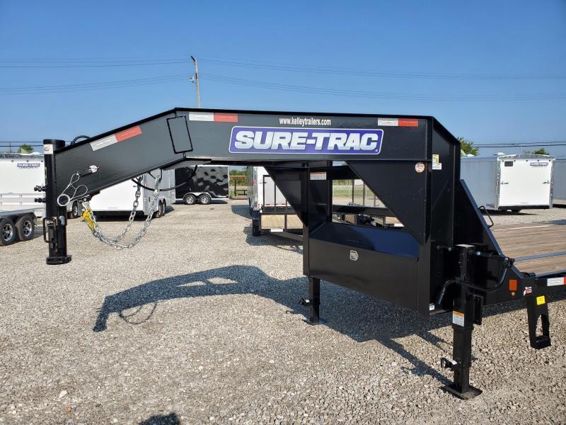 2020 Sure-Trac 8.5x20+5 15K Deckover Gooseneck Flatbed Trailer