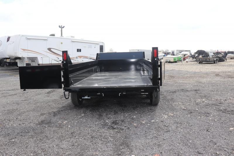 2021 Sure-Trac 72INx12 10K Single Ram Dump Trailer