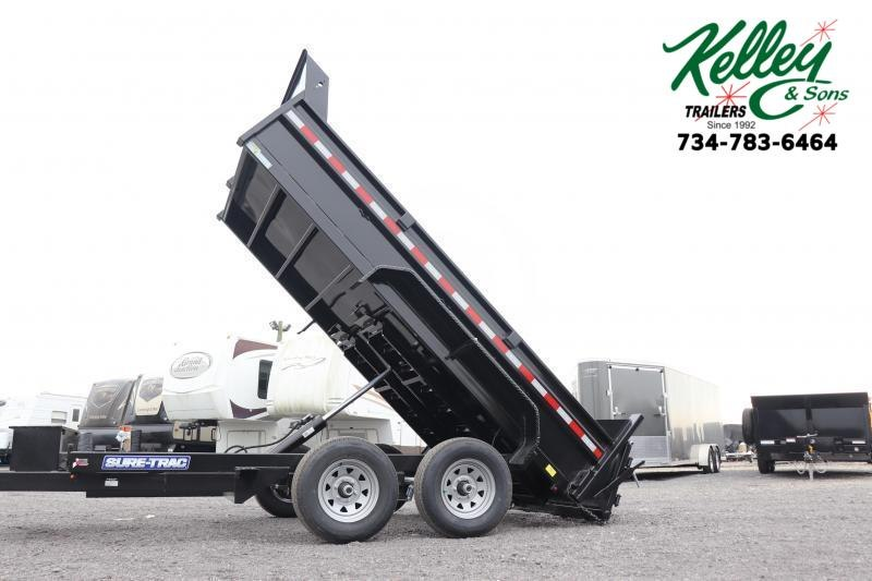2021 Sure-Trac 72INx12 10K Single Ram Dump Trailer