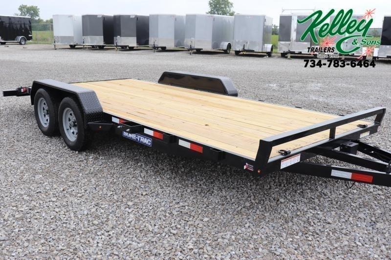 2021 Sure-Trac 7x18 7K Wood Deck Car Hauler