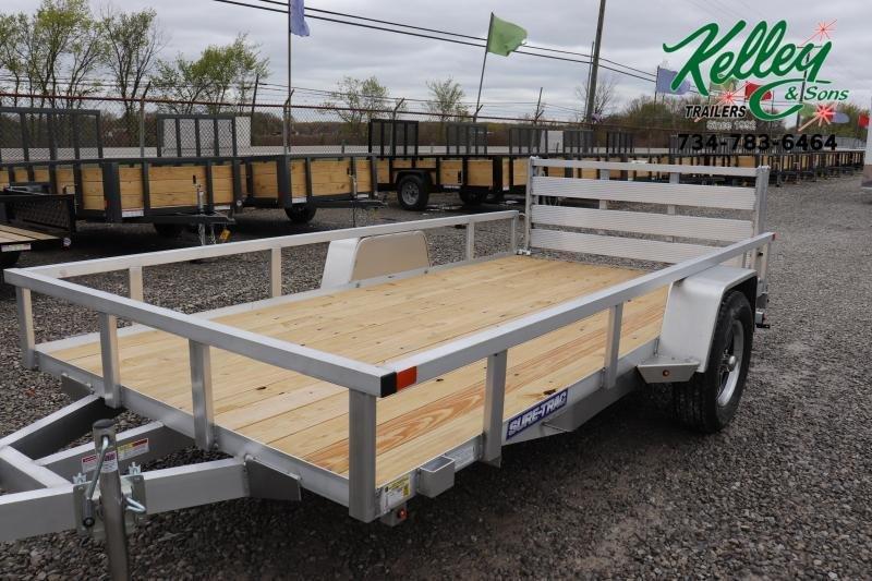 2020 Sure-Trac 6x12 Aluminum Utility Trailer