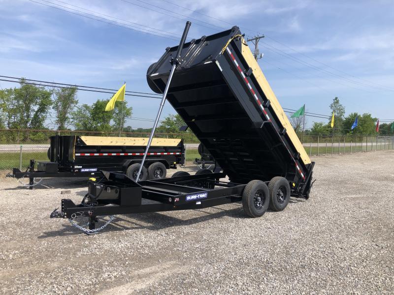 "2021 Sure-Trac 82""x14 14k Telescopic Dump"
