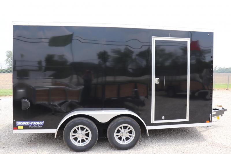 2020 Sure-Trac 7x14 7K Pro Series Wedge Cargo