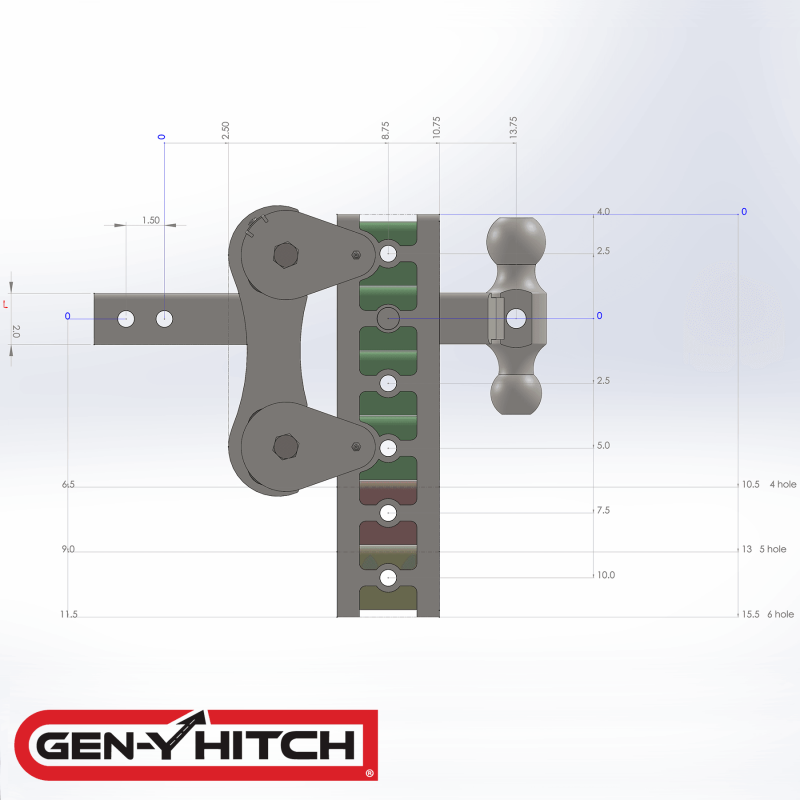 2020 Gen-Y Hitch GH-1025