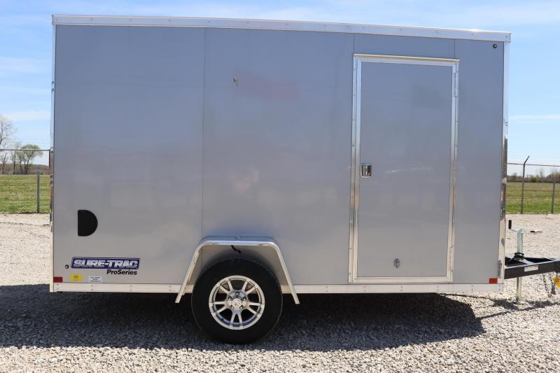 2021 Sure-Trac 6x12 Pro Series Wedge Cargo Trailer