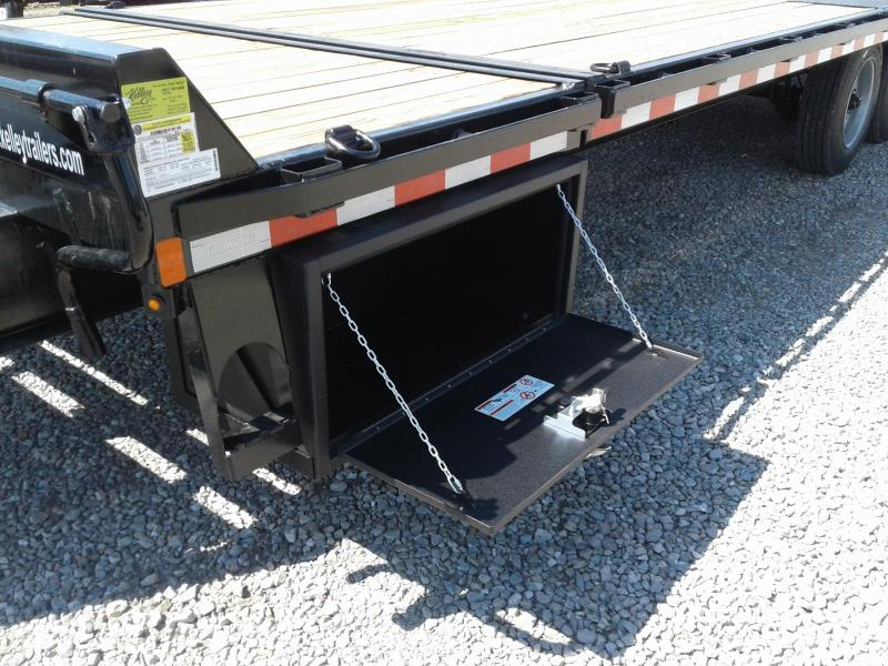 2020 Sure-Trac 102x22+4 17.6K Deckover Tilt Equipment Trailer