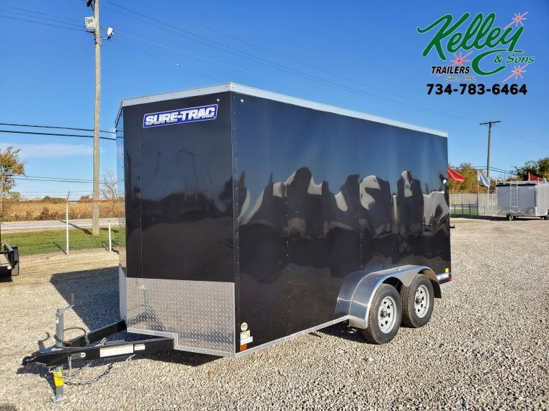 2020 Sure-Trac 7x14 7K ST Series Wedge Enclosed Cargo Trailer