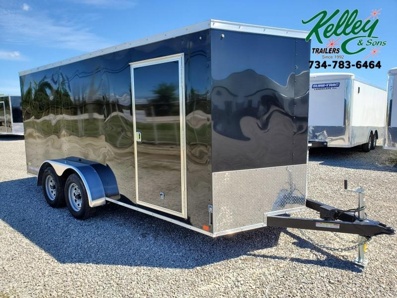 2021 Sure-Trac 7x16 7K ST Series Wedge Enclosed Cargo Trailer