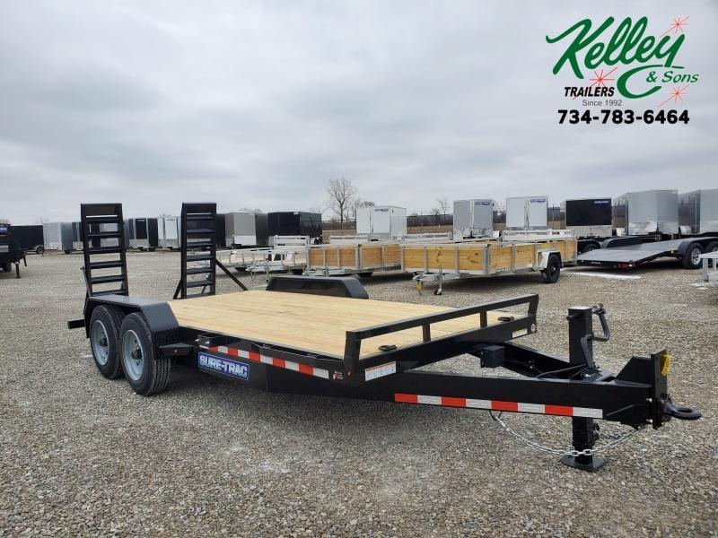 2021 Sure-Trac 7x16 16K Equipment Trailer