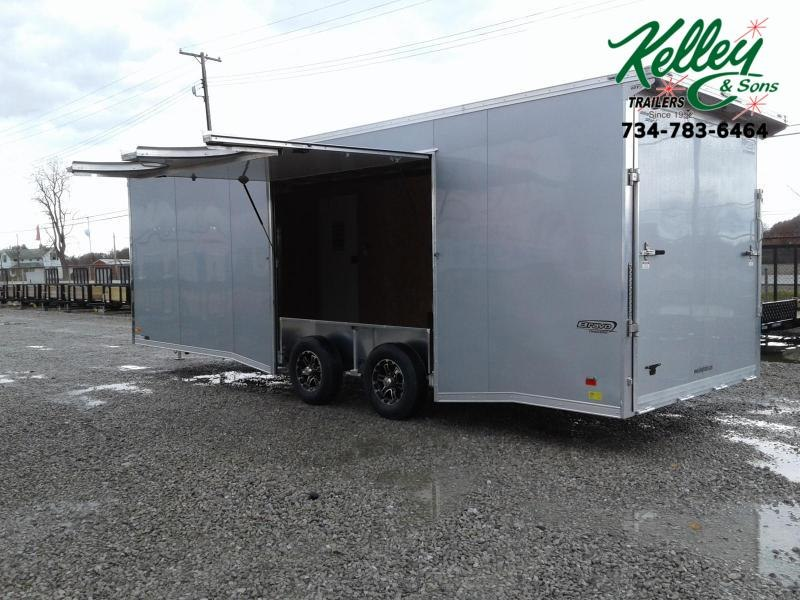 2020 Bravo Trailers 8.5x24 10K Star Aluminum Car / Racing Trailer