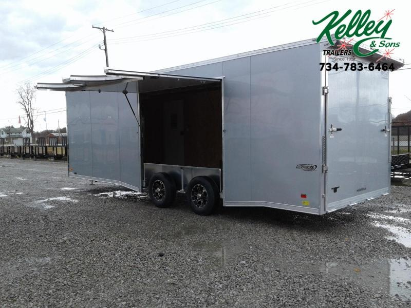 2021 Bravo Trailers 8.5x24 10K Star Aluminum Car / Racing Trailer