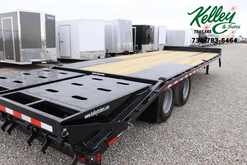 2020 Sure-Trac 8.5x20+5 22.5K Low Pro Beavertail Deckover