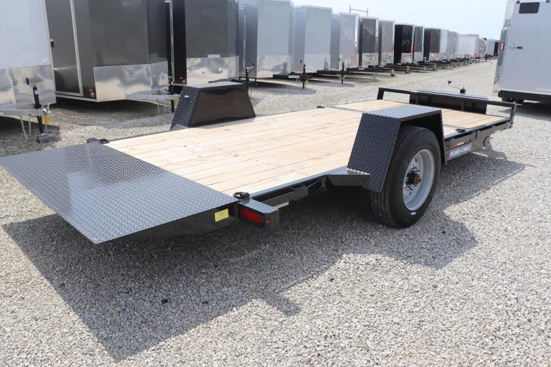 "2021 Sure-Trac 78""x12+4 10K Tilt Bed Equipment Trailer"