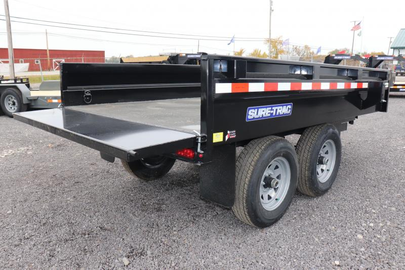 "2020 Sure-Trac 72""x10 10K Deckover Single Ram Dump Trailer"
