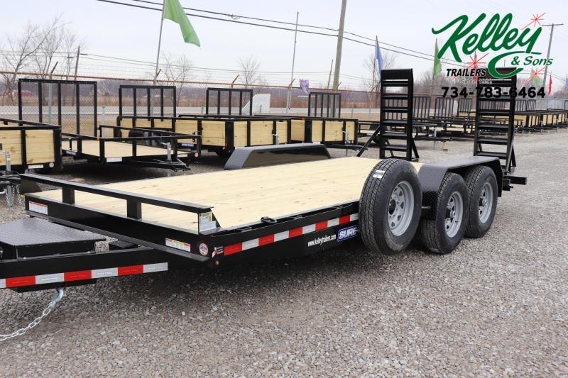 2021 Sure-Trac 7x18 14K Equipment Trailer